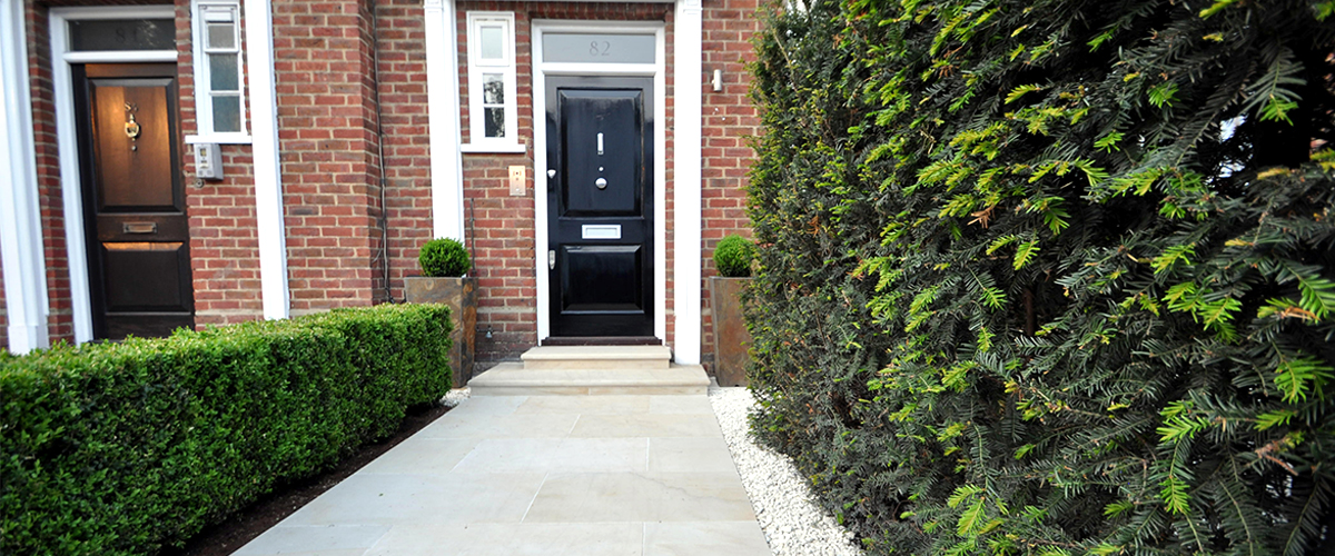 front garden makeover chelsea london - Front Garden Ideas London