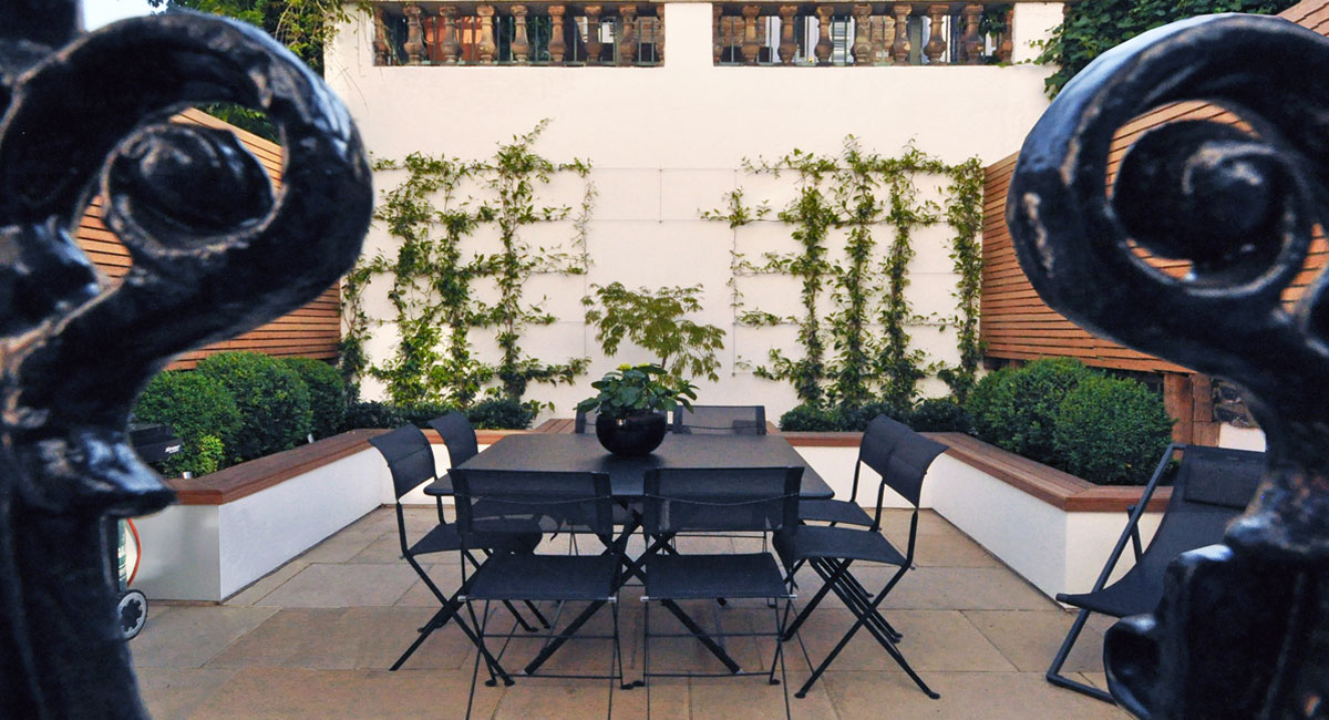 luxury garden Clapham