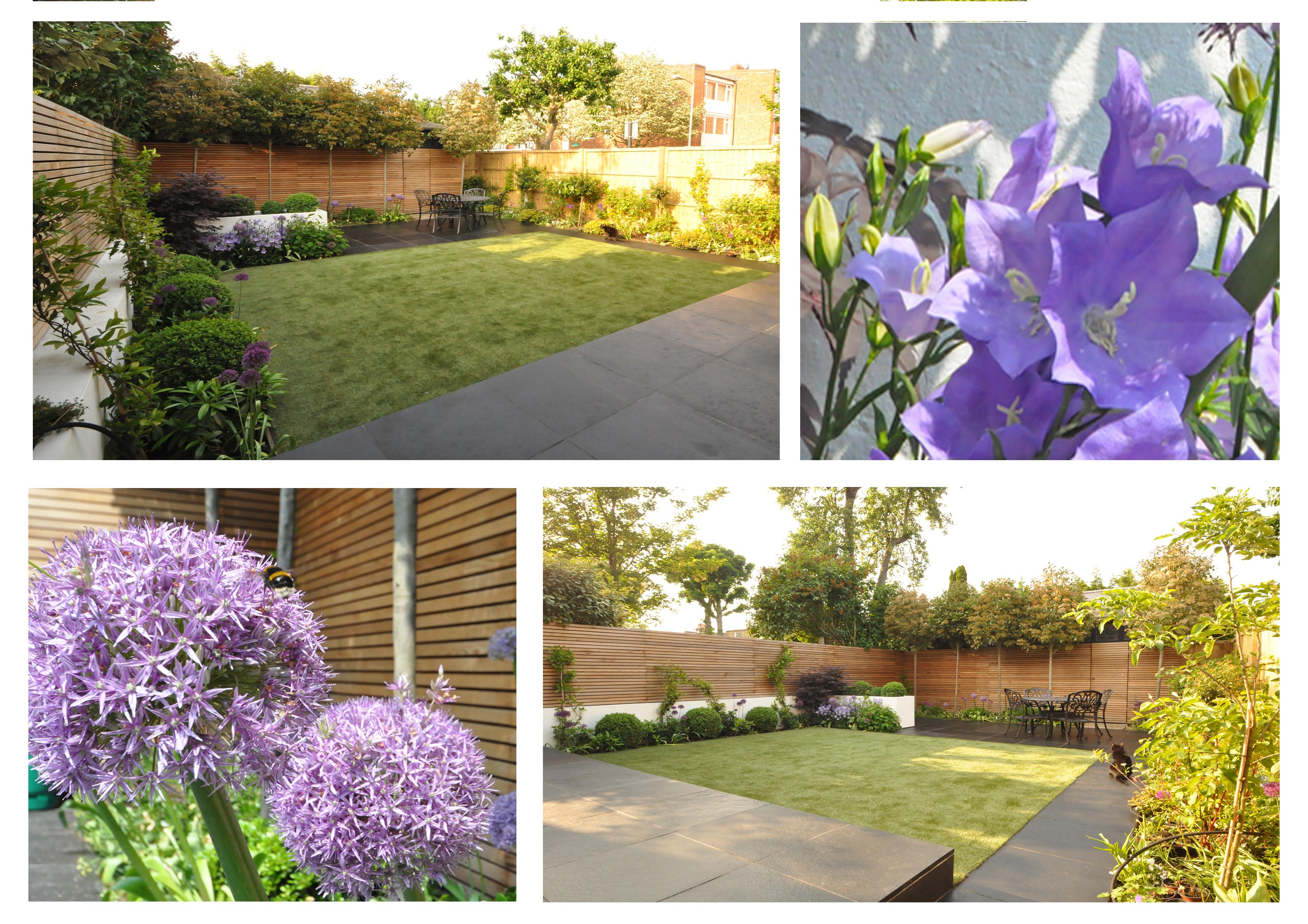 Contemporary London Garden Two Patio Design