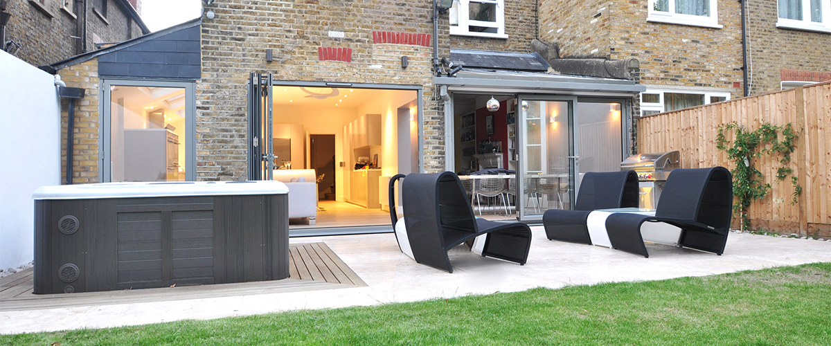 hot tub garden ideas in london - Garden Ideas London