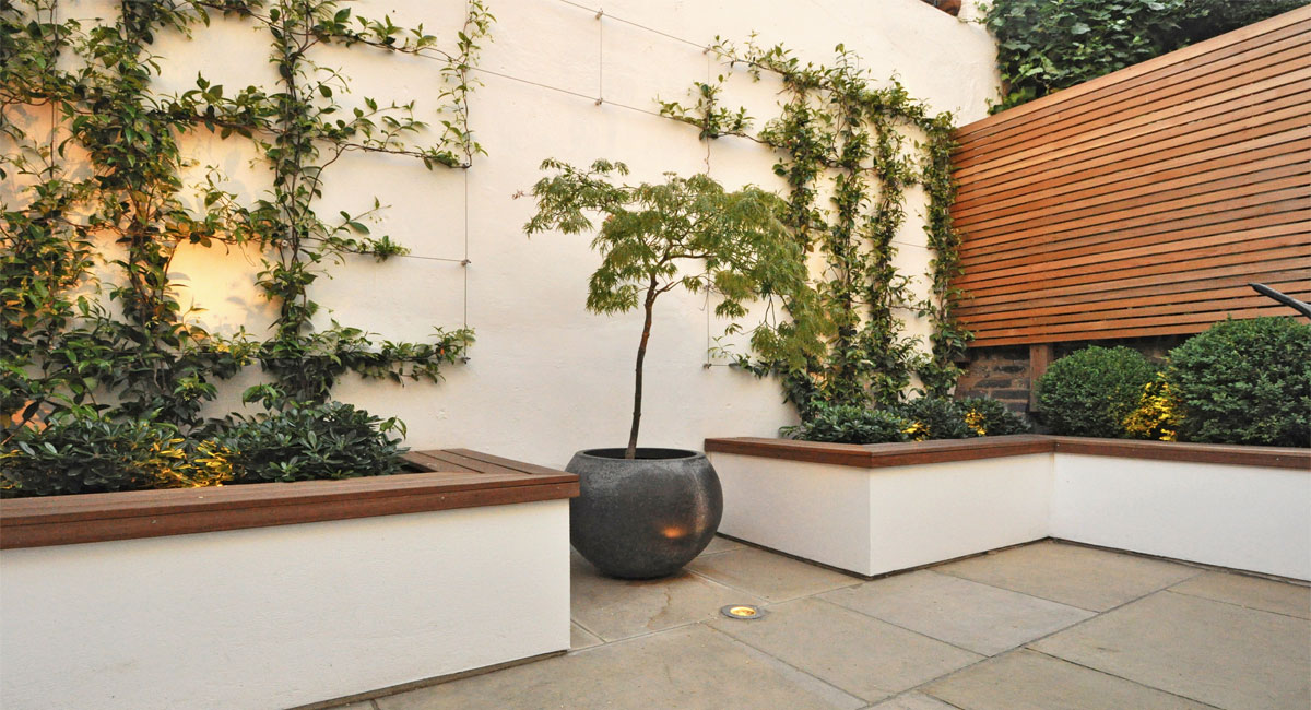 luxury garden London