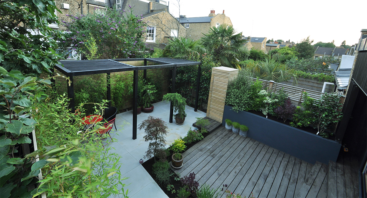 Contemporary Japanese Garden Design Clapham, London ...